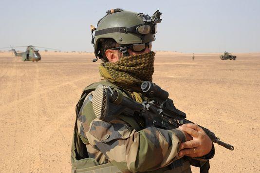 Soldat français au Mali
