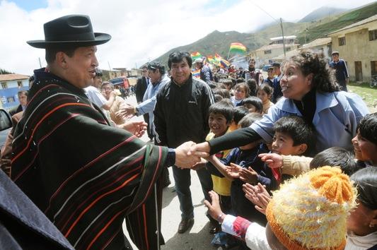31 mars 2011, en Bolivie.