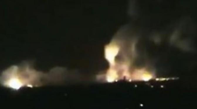 Encore des frappes aériennes israéliennes en Syrie