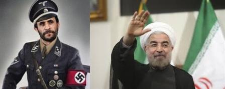 Comment forcer Rohani à porter lui aussi le képi nazi?