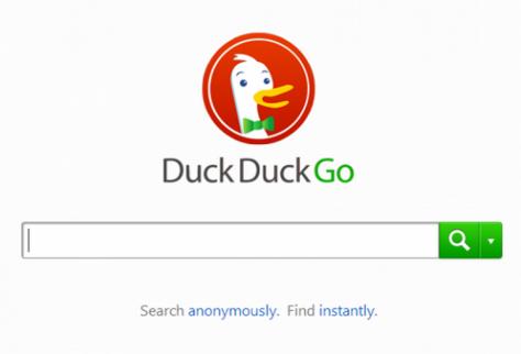 Le moteur de recherche DuckDuckGo est le seul à proposer des requêtes anonymes.