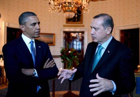Erdogan-Obama-Syrie