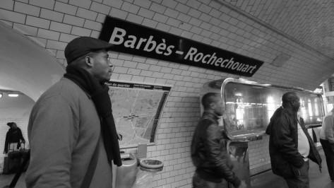 Métro Barbès - Paris