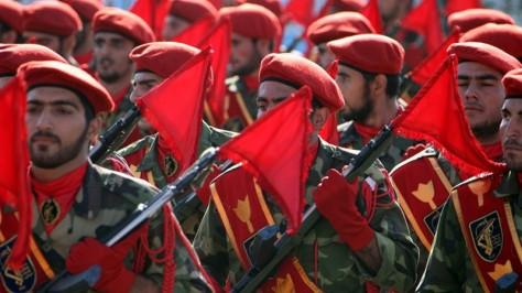 Soldats de la garde révolutionnaire iranienne