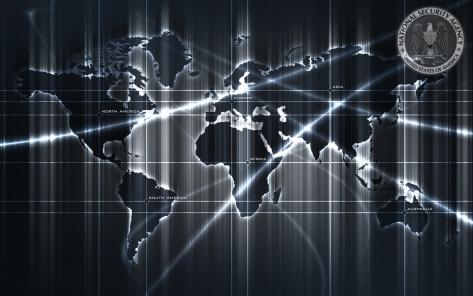 NSA carte du monde
