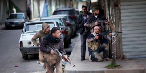 Lutte armée en Syrie