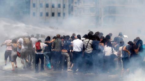 Turquie-émeutes