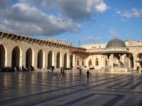 Alep - mosquée des Omeyyades8_JPG