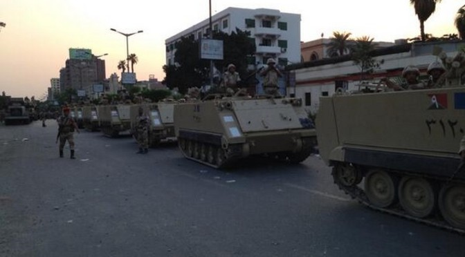 Egypte: Et si le but était de créer une guerre civile?