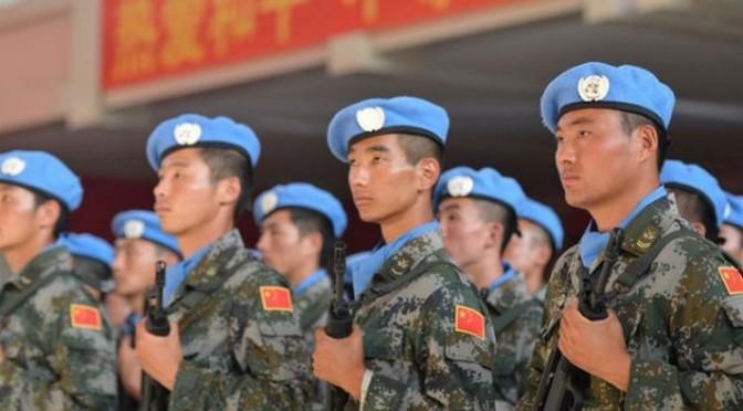 Des « troupes de combat » chinoises en Afrique