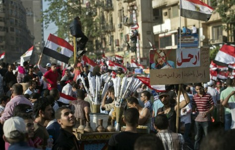Egypt revolte