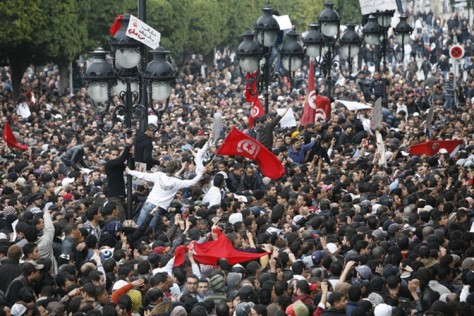 EPA Photographer Lucas Dolega dies after being injured during protests in Tunis
