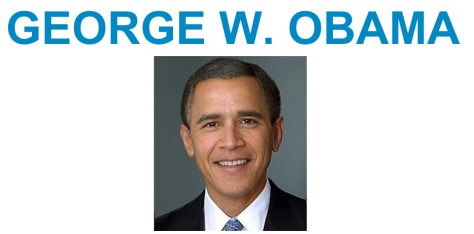 Georges W. Obama