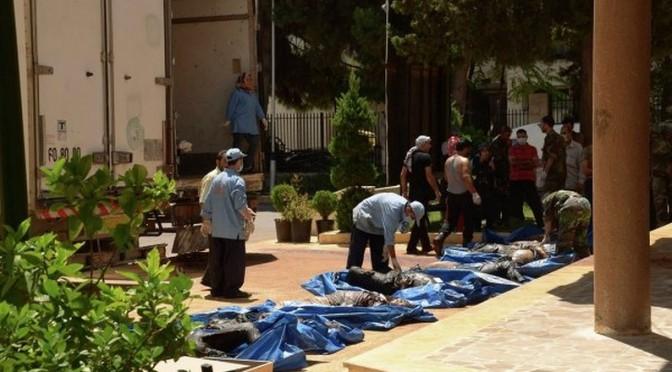 Le carnage de Khan-Al-Asal : Une opération destinée à éliminer les preuves de l'usage des armes chimiques par les « rebelles »