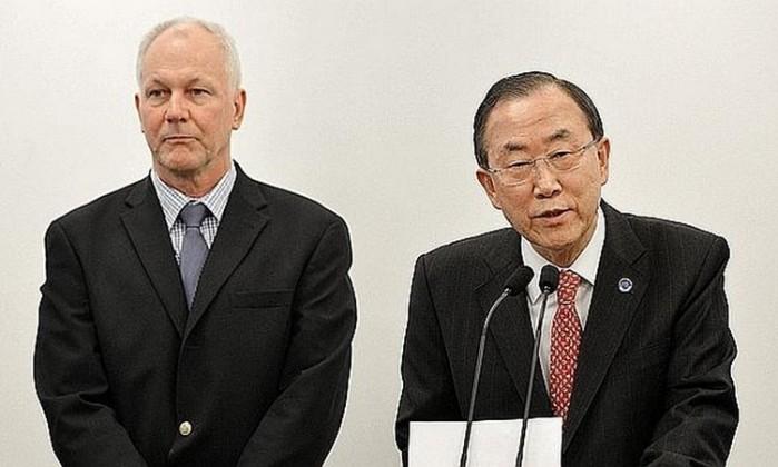 Ake Sellstrom-Ban Ki Moon