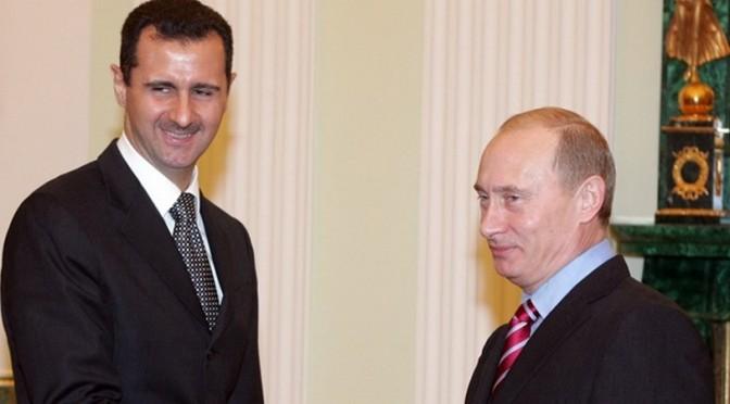 Message de Poutine à Assad ….