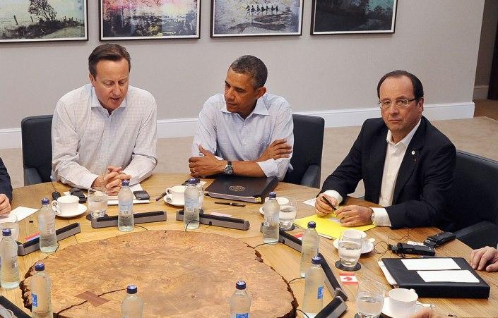 David-Cameron-Barack-Obama-Francois-Hollande