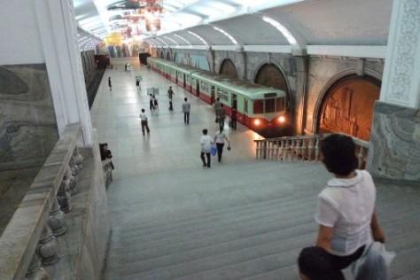 Le métro.