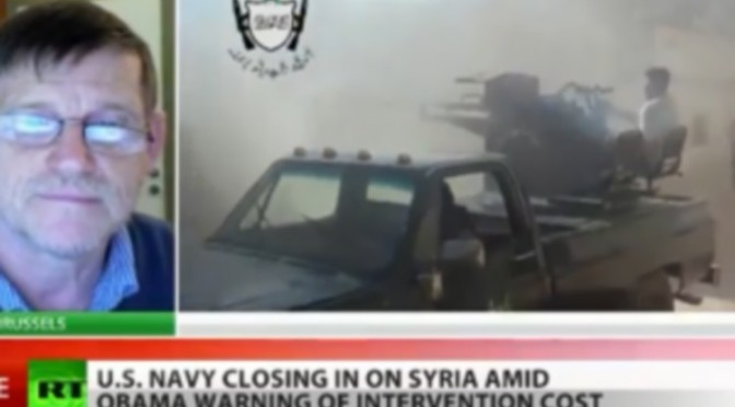 Michel Collon répond à RT au sujet des armes chimiques en Syrie (vidéo)