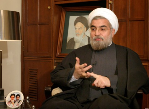 Iran's chief nuclear negotiator Rohani speaks with Reuters correspondent in Tehran.