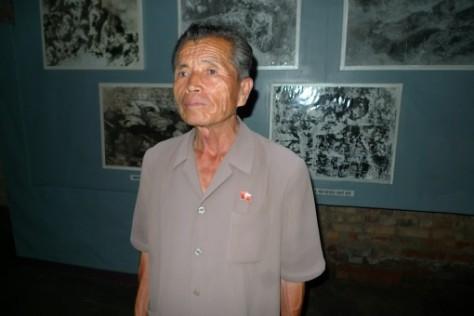 L'un des survivants du massacre de Sinchon.