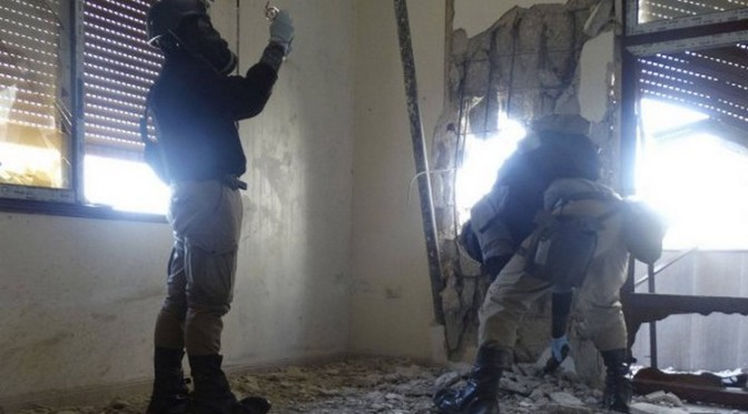 Les missiles de gaz «n'ont pas été vendus à la Syrie» – Robert Fisk