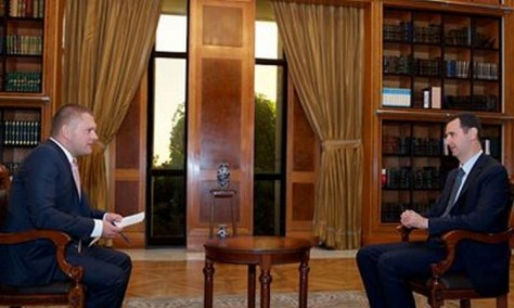 Interview Assad