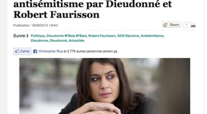 Réponse de Faurisson au bidonnage du Huffington Post