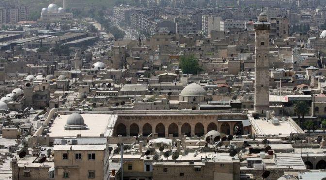 Dernières nouvelles d'Alep