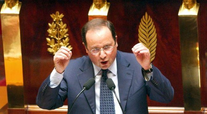 Quand François Hollande disait non à la guerre !