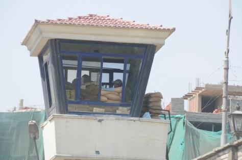 Contrôle dans les rues au Caire ... ces jours-ci.