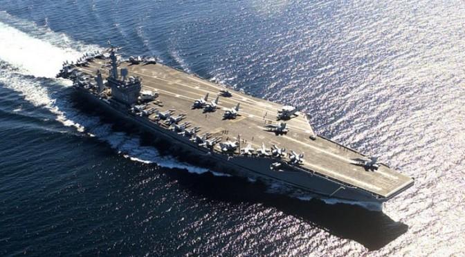 Syrie : les États-Unis rappellent la moitié de leurs navires