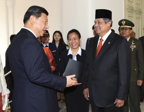 Susilo Bambang Yudhoyono,  Xi Jinping