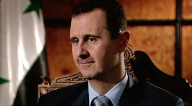 Syrie : L'administration US crée les conditions favorables au terrorisme ! par Bachar al-Assad