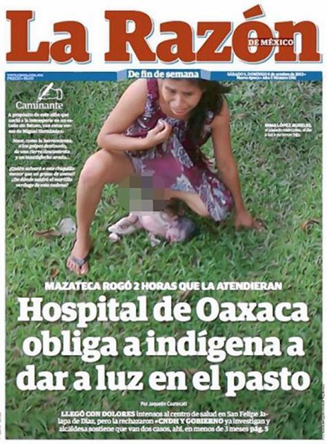 Irma Lopez a même fait la une du tabloïd mexicain Razon