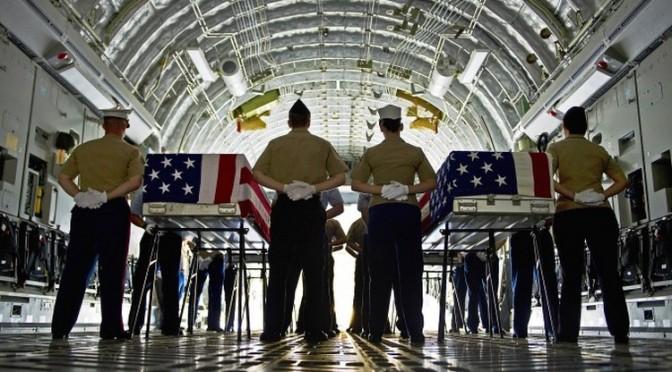 L'armée US bidonnait des cérémonies de retours de corps – Un scoop de NBC News