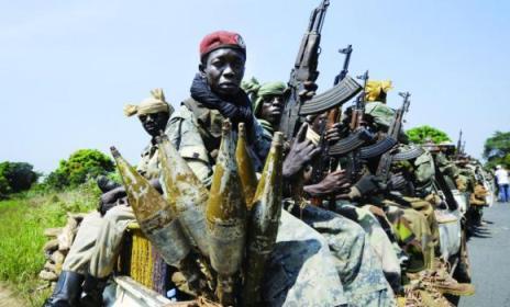 Des membres de la Seleka