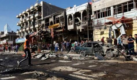 15 avril 2013 - Des insurgés irakiens ont déployé une série d'attentats à la voiture piégée en Irak, faisant au moins 55 victimes