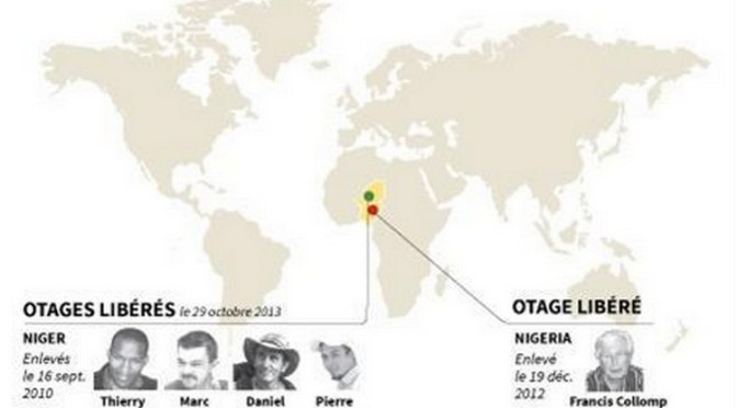 La France et ses otages