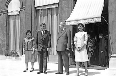 FRANCE-KENNEDY-DE GAULLE-1961