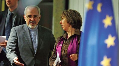 Catherine Ashton, Mohammad Javad Zarif