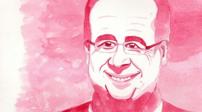 En Israël, François Hollande voit la vie en rose… (Vidéo)