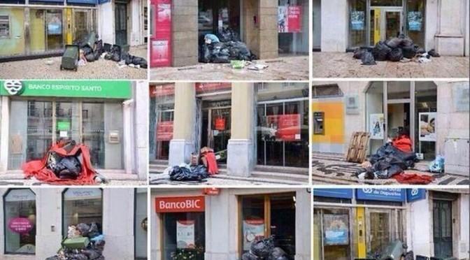 Portugal : quand les banques deviennent des décharges publiques