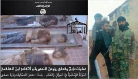 Décapitations Syrie