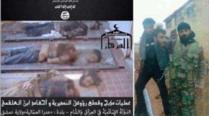 Syrie : Un massacre nommé « Adra ».