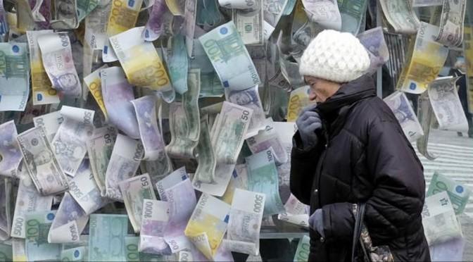 Quand la BCE admet entre les lignes qu'elle a un plan pour nous sortir de la crise : la déflation et les chômeurs