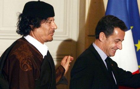 Kadhafi-Sarkozy