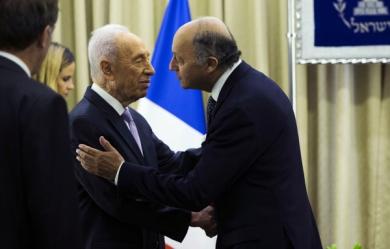Laurent Fabius et Shimon Peres, plus qu'une amitié