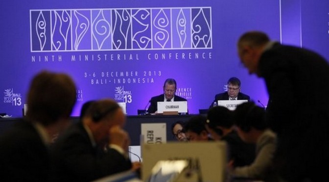 L'OMC sauve les apparences… en décidant de ne pas décider grand-chose !