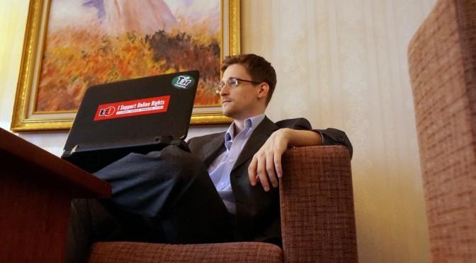 Edward Snowden, après des mois de révélations sur la NSA, dit que sa mission est accomplie